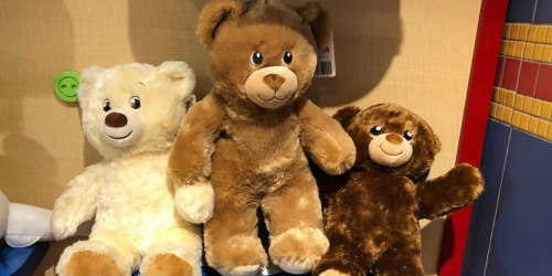 Build-A-Bear Workshop Furry Friends as Low as $8 (Regularly up to $26)