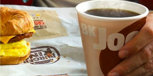 One Month of Burger King Coffee Just $5 (Cheaper Than One Handcrafted Drink at Starbucks)