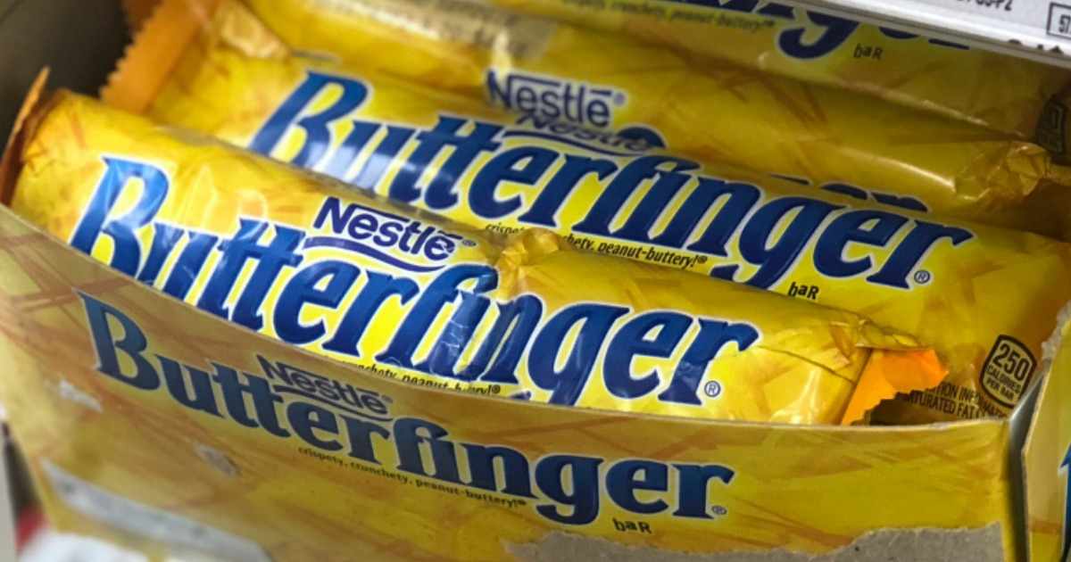 Free Butterfinger Candy Bar for Kroger & Affiliates Shoppers