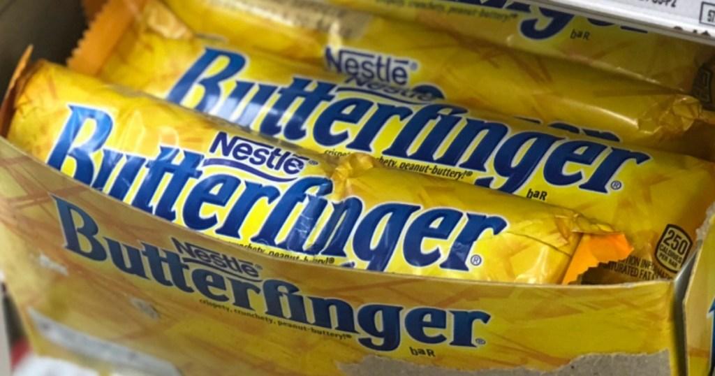 box of Butterfinger bars