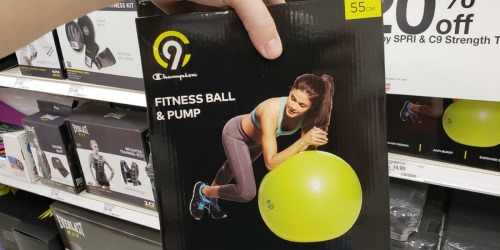 $10 Off $40+ Fitness Gear Purchase at Target (In-Store & Online)