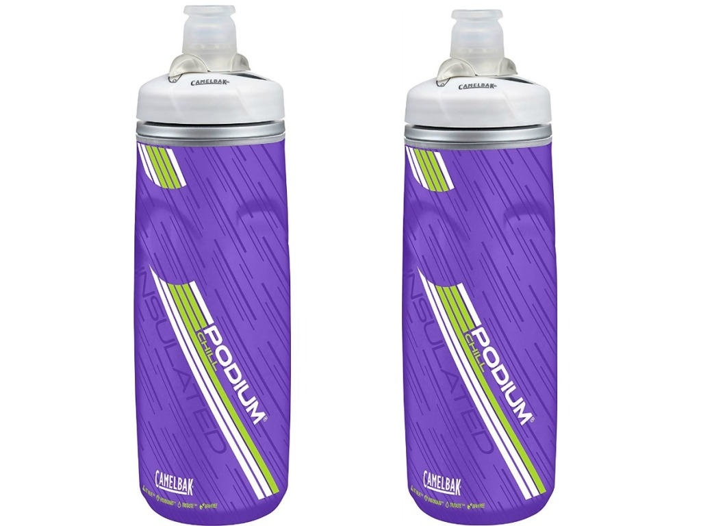 6fc1b6ede1 This insulated water bottle features double-walled construction to keep  your drinks cold and the self-sealing valve ensures fast water flow without  leaks ...