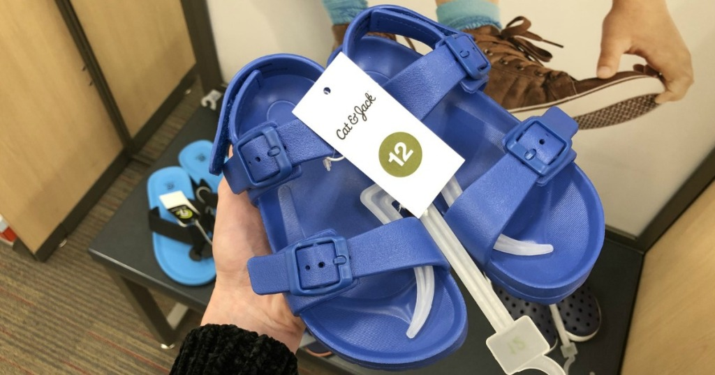 d5a64ecdfe2 Cat   Jack Toddler Boys Beau Footbed Sandals  12.99. Buy 2 pairs and pay  just  9.74 per pair after the BOGO 50% off sale!