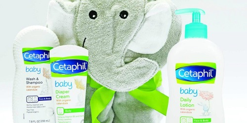 Cetaphil Baby Bath Time Gift Set w/ Towel Only $14 Shipped at Amazon