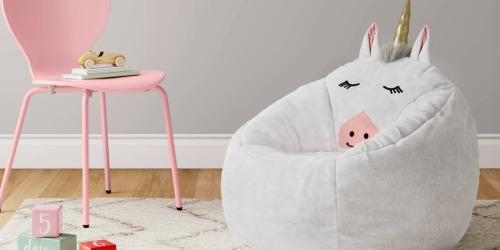 Up to 50% Off Pillowfort Kids Furniture at Target (Beanbags, Activity Tables, & More)