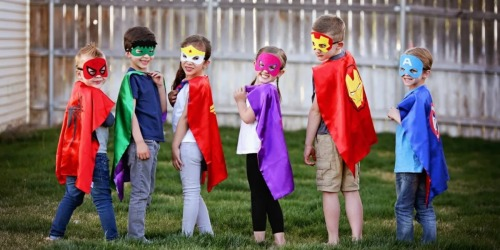 Character Cape & Mask Sets Only $8.99 Shipped (Regularly $20) – Spiderman, Wonder Woman & More