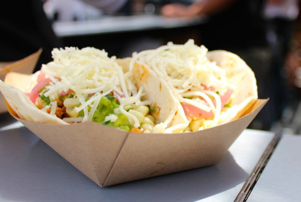 Chipotle 2 soft tacos