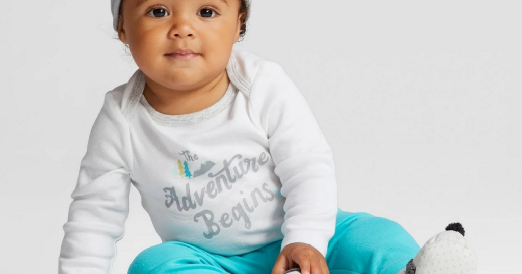 7269f909b5 Cloud Island Baby Boy Bodysuit 4-Pack Just  4.99 (Regularly  10) at Target .com