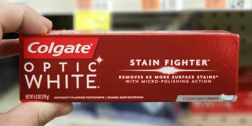 FREE Colgate Optic White Toothpaste at CVS