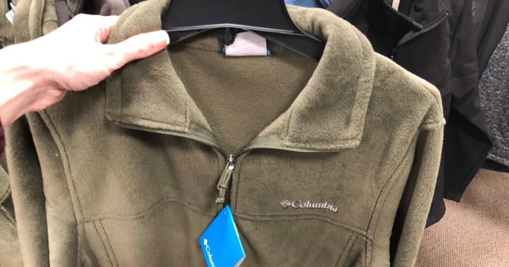 63e2a84a55c Hop on over to Kohl's.com and score this Columbia Men's Flattop Ridge  Fleece Jacket for just $19.99 (regularly $60).