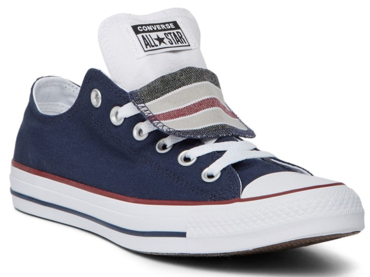 Blue Converse All-Star Shoe