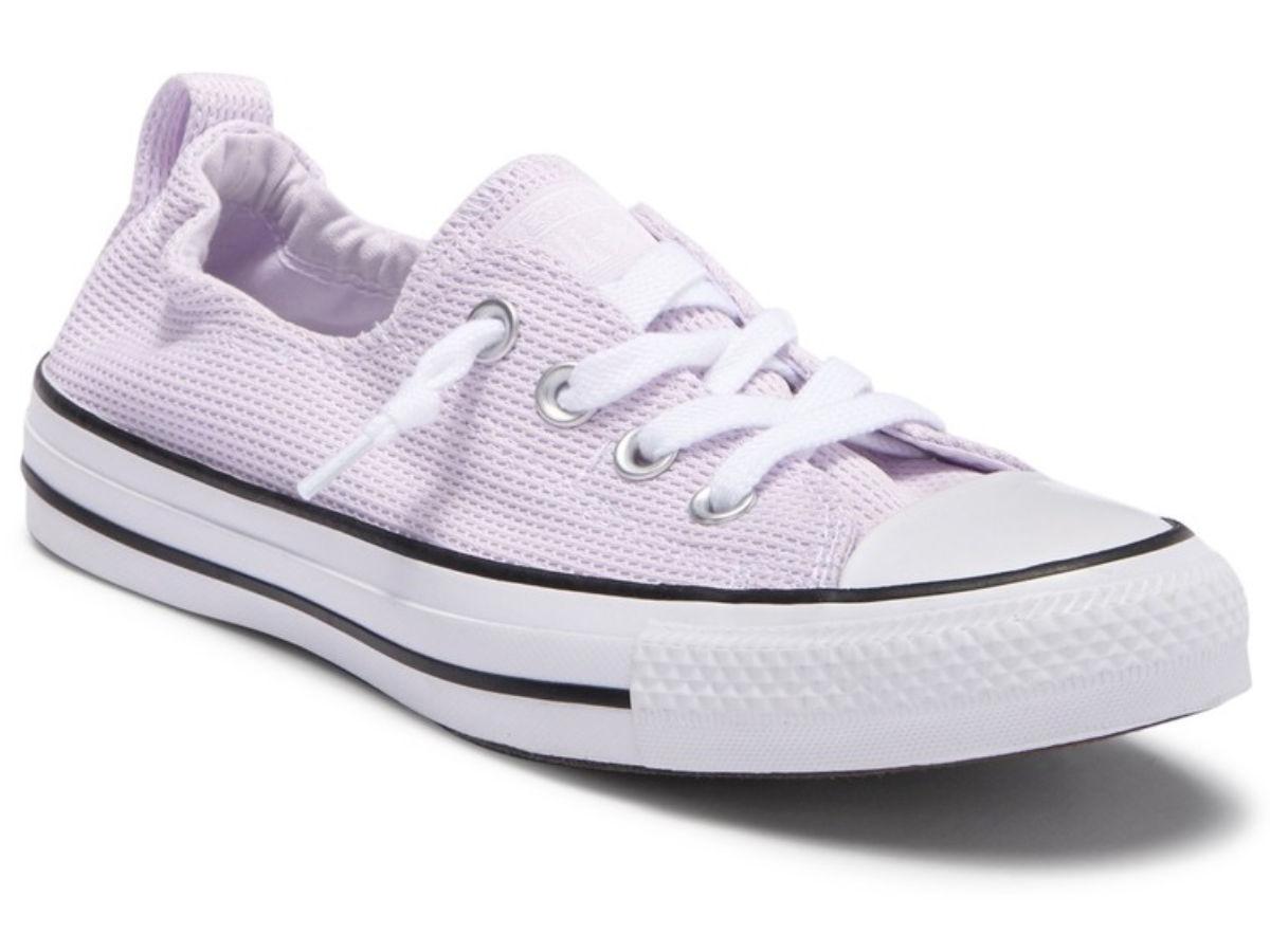 Grape women's Chuck Taylor shoes