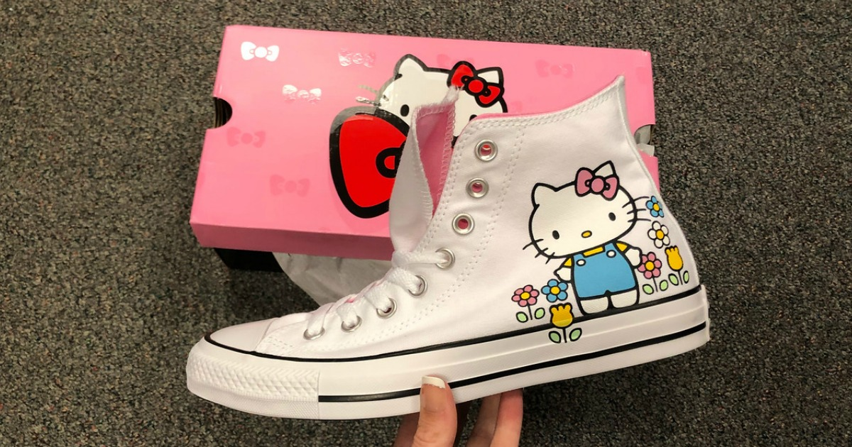 triste Desplazamiento inundar  Converse Hello Kitty High Tops as Low as $49.99 Shipped + Earn $15 Kohl's  Cash & More - Hip2Save