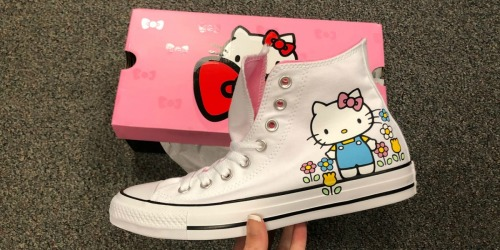 Converse Hello Kitty High Tops as Low as $49.99 Shipped + Earn $15 Kohl's Cash & More