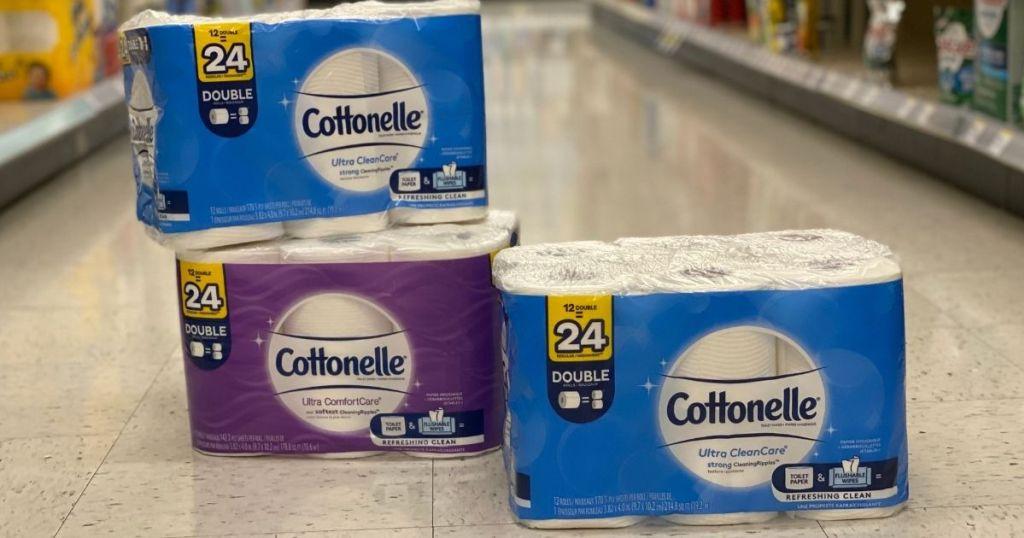 Cottonelle 24 bungkus kertas toilet