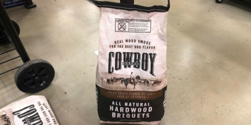 Lowe's: Cowboy Brand All Natural 14-Pound Charcoal Briquets Only $4.99 (Regularly $10)