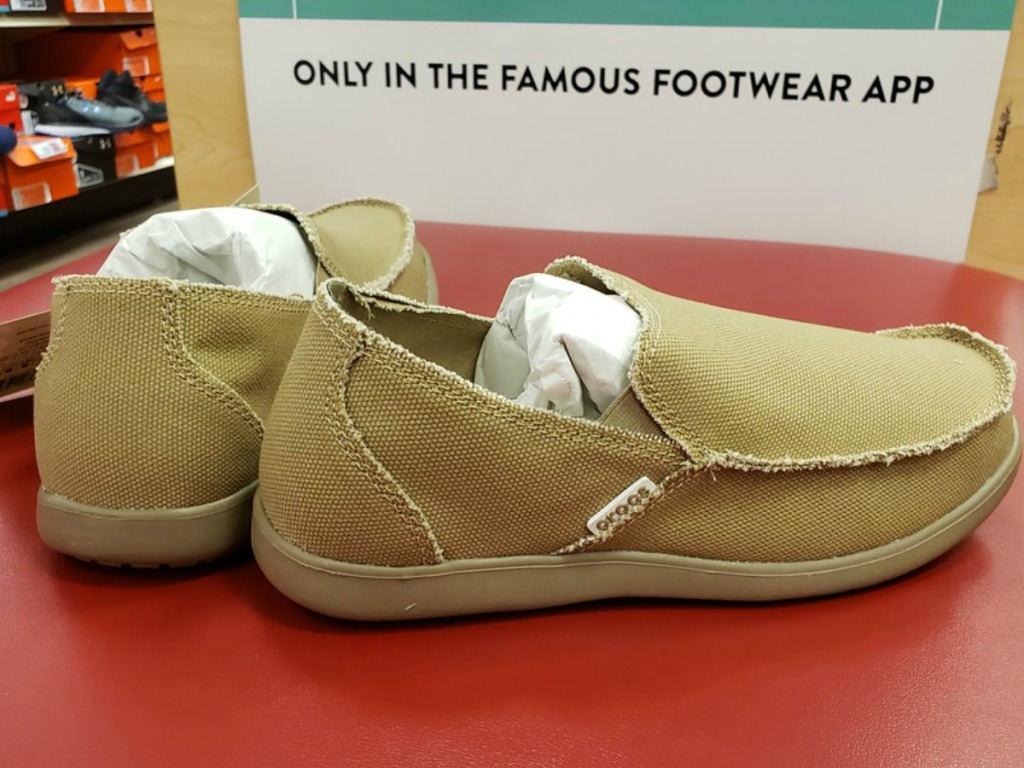feafed1e3 Crocs Men s Santa Cruz 2 Luxe Loafers  58.99 (regularly  59.99) Minus  automatic 50% off. Final cost  29.49!