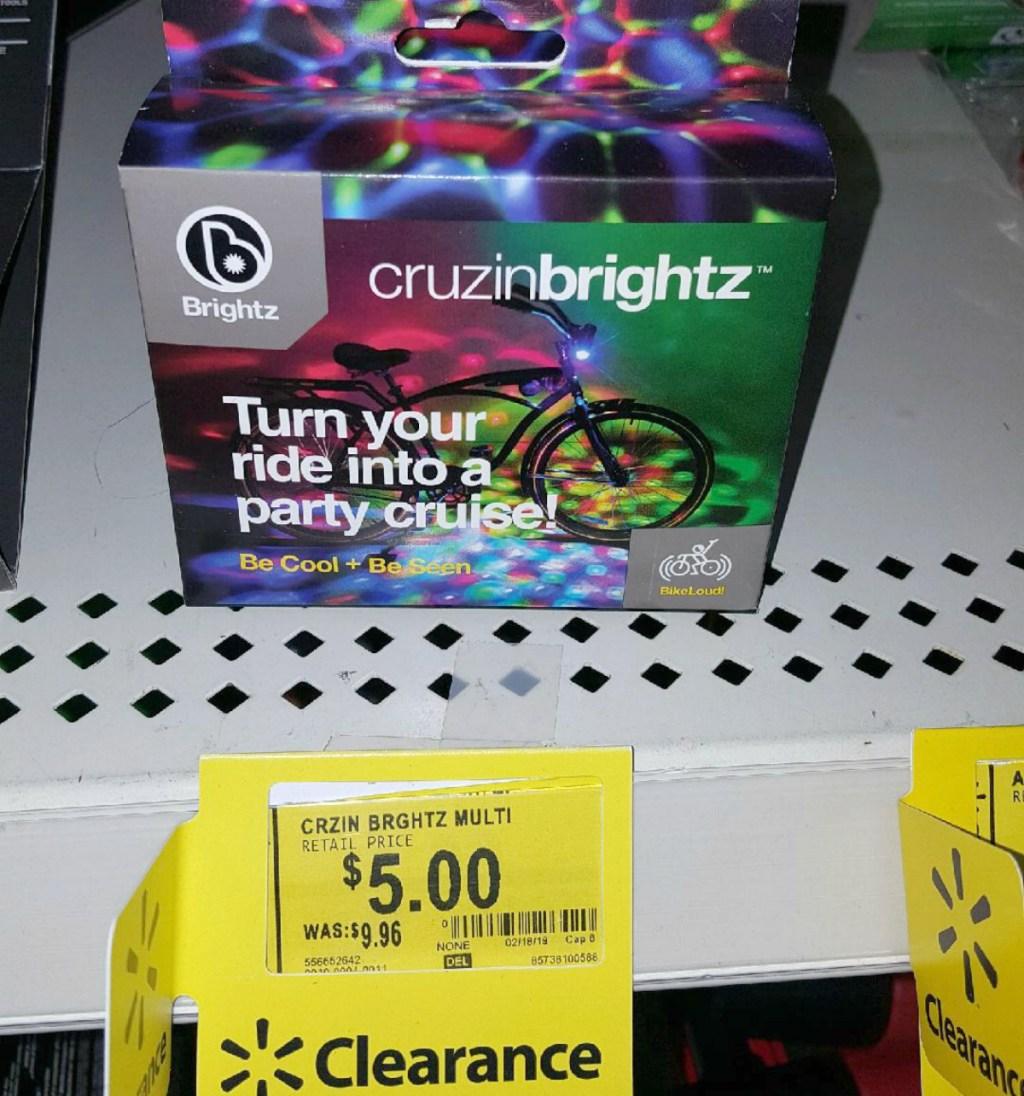 Cruzinbrightz lights at Walmart