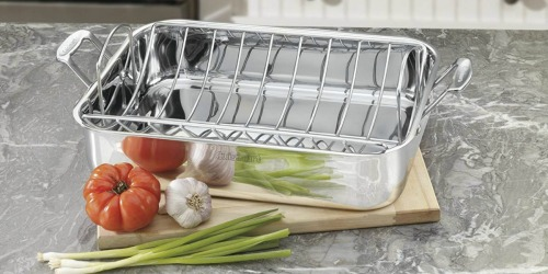 Cuisinart Chef's Classic Stainless Steel Roaster w/ Rack Only $32.99 Shipped (Regularly $110)