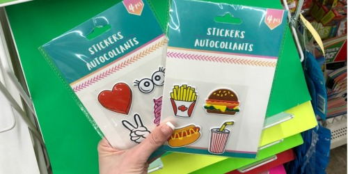 Puffy Stickers, Scented Markers & More Only $1 at Dollar Tree (Fun for Easter Baskets)