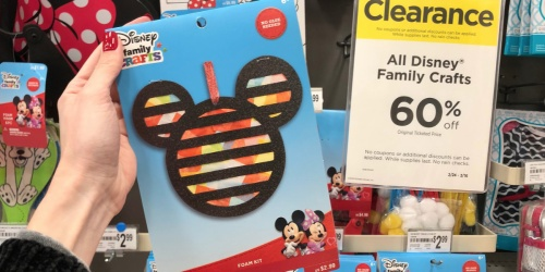 60% Off Disney Family Crafts at Michaels