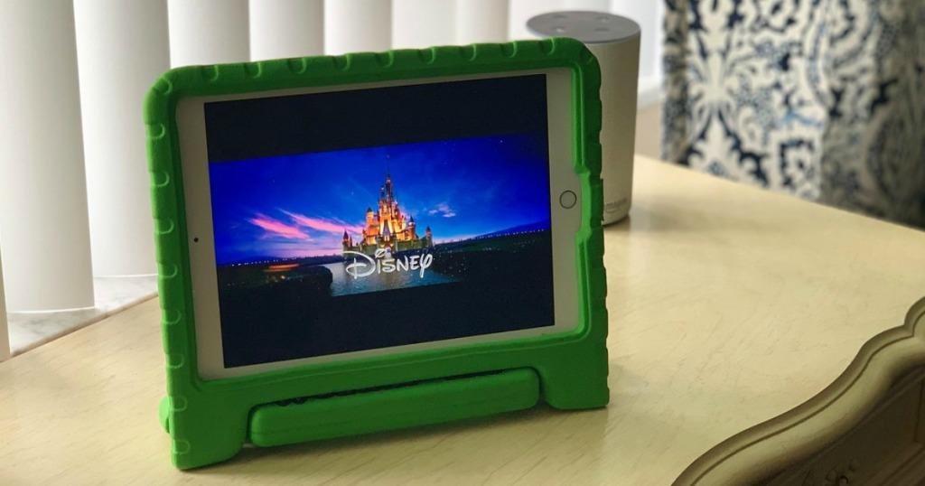 Disney movie on iPad