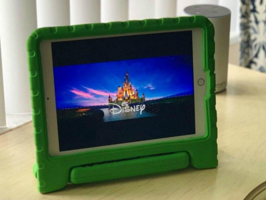 Disney screen grab on child's tablet