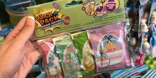 Wack-A-Pack Self-Inflating Easter Balloon 4-Pack Only $1 at Dollar Tree