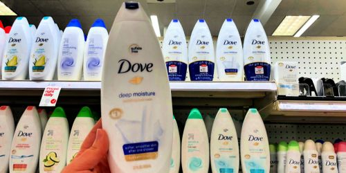 Dove Body Wash 4-Pack Only $13 Shipped on Amazon