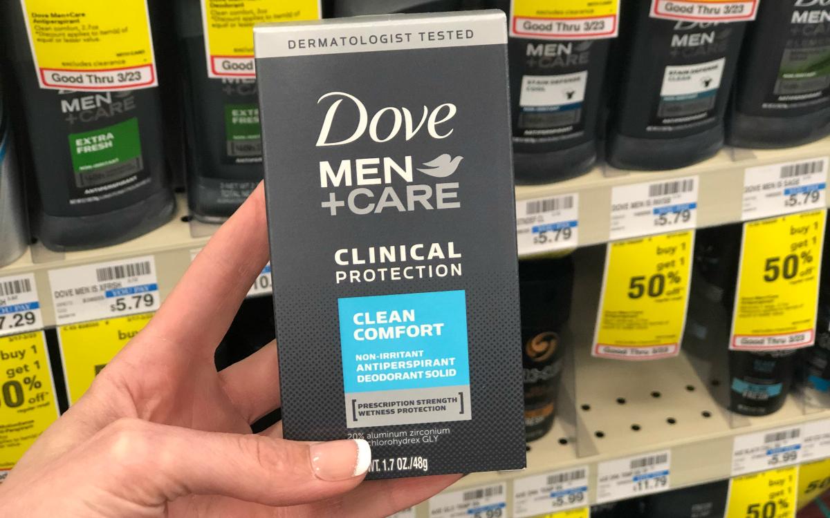 Dove Men Clinical protection box