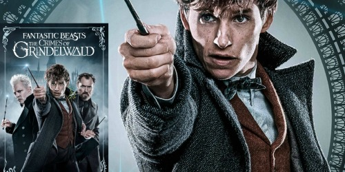 Fantastic Beasts: The Crimes of Grindelwald 4K UHD Movie Only $9.99