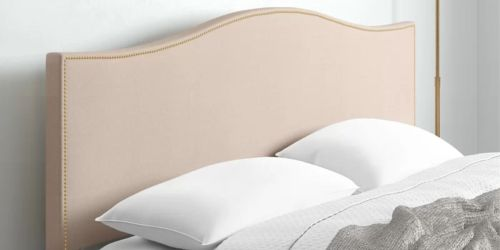Up to 50% Off Upholstered Headboards + Free Shipping