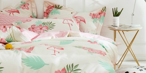 30% Off Cotton 3-Piece Bedding Sets on Amazon