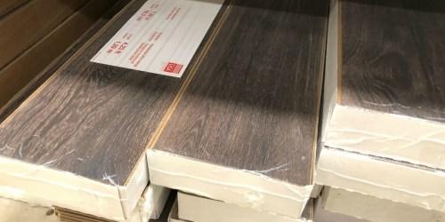 50% Off Wood Plank Laminate Flooring at Lowe's