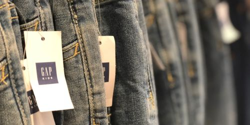 Up to 80% Off Clothing at Gap