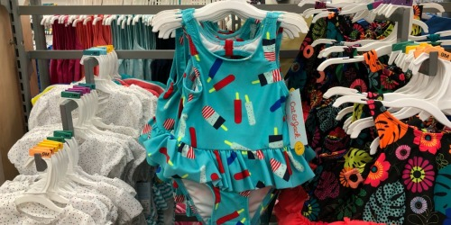 Cat & Jack Swimsuits Only $9.99 Each at Target + More (Online & In-Store)