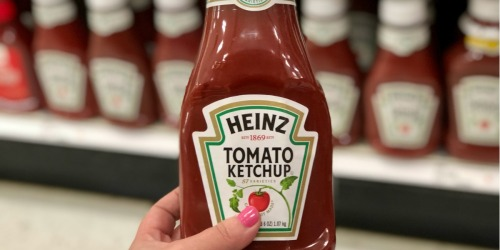 50% Off Heinz Ketchup at Target (Just Use Your Phone)