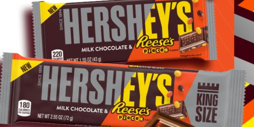 FREE Hershey's Milk Chocolate w/ Reese's Pieces Candy Bar for Kroger & Affiliate Shoppers