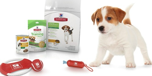Amazon: Hill's Science Diet Puppy Food, Treats & Toys Bundle Only $8.99 (Regularly $25)