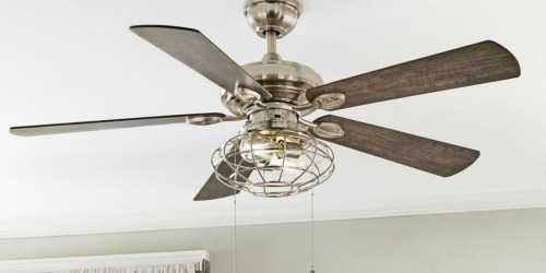 Up to 40% Off Ceiling Fans + Free Shipping at Home Depot