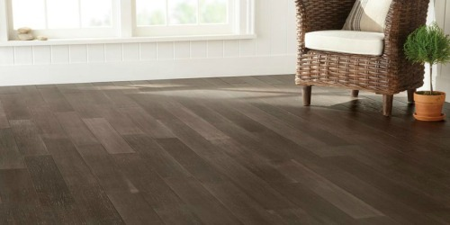 Home Depot: Up to 60% Off Select Hardwood & Vinyl Flooring + Free Shipping