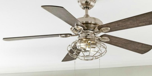 Home Depot: Up to 45% Off Fans & Lighting + Free Shipping