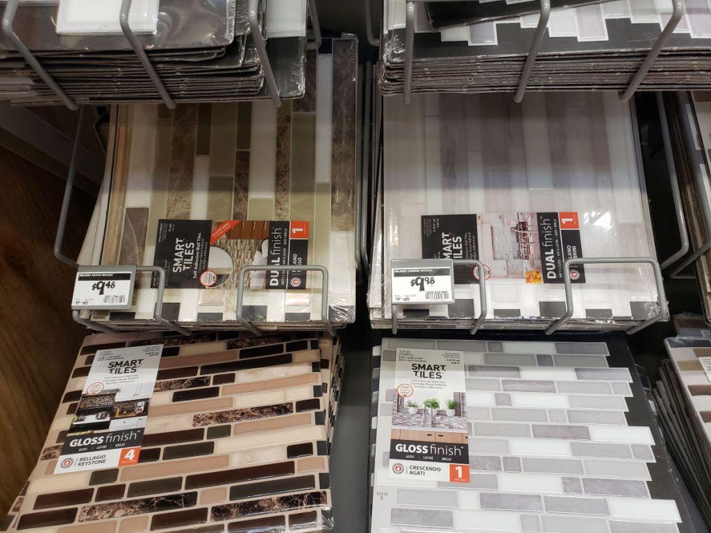 Home Depot Smart Tiles