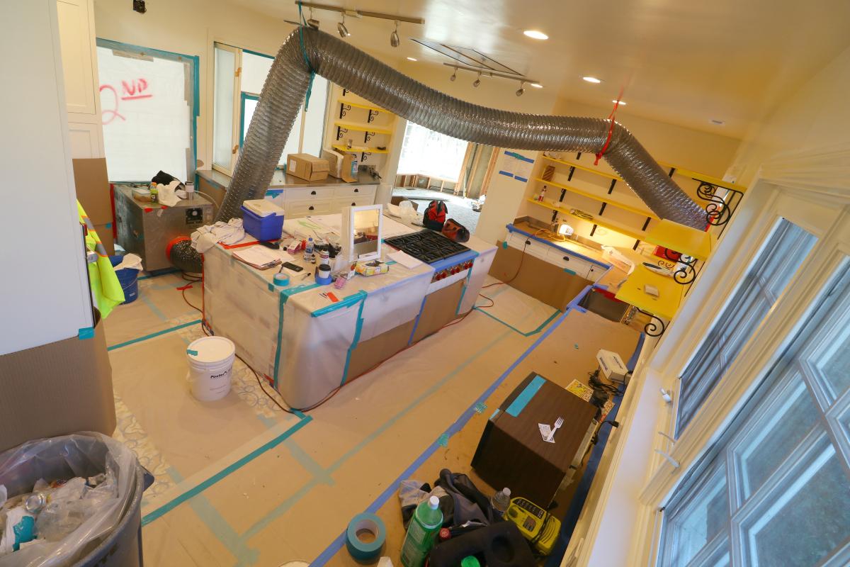 Collin's kitchen remodel in progress