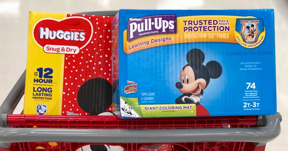 graphic relating to Printable Coupon $3 Off Pull Ups named $4.50 within just Clean Huggies Pull Ups Discount codes \u003d as Very low as $17.49