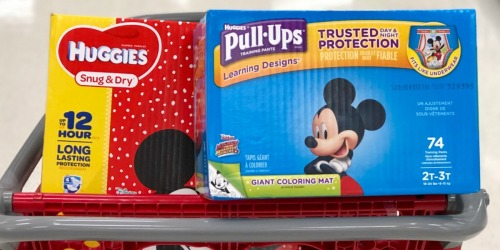 New Huggies & Pull-Ups Coupons = Huge Packs as Low as $16 After Rite Aid Rewards