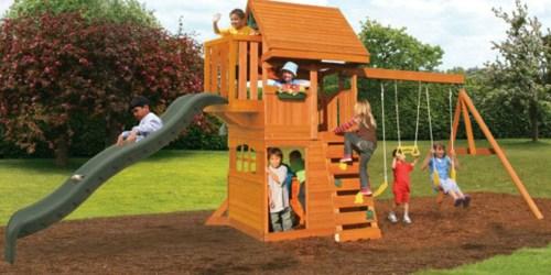 KidKraft Brown Grandview Lodge Wood Play Set Only $624.94 Shipped (Regularly $1,500)