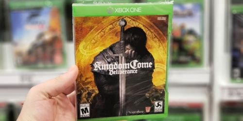 Kingdom Come Deliverance PS4 or XBOX One Game Only $14.99 at Target (Regularly $30)
