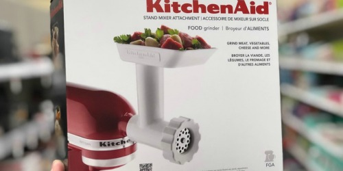 KitchenAid Food Grinder Attachment Only $24.80 (Regularly $65)