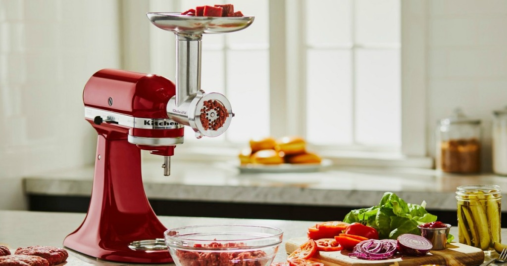 KitchenAid Metal Food Grinder Attachment Only $52 Shipped ...